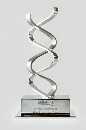 Palletline Award won by Alan R Jones